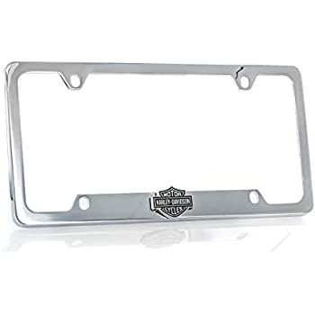 Harley-Davidson 3D Bar and Shield Emblem License Plate Frame Holder