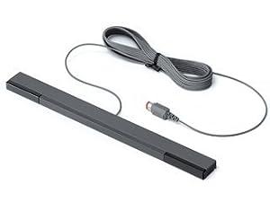 Nintendo Wii Sensor Bar Black Wired Official RVL-014 New by Nintendo