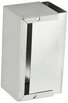 "BUD Industries CU-3004-A Aluminum Electronics Minibox, 5"" Length x 2-1/4"" Width x 2-1/4"" Height, Natural Finish"