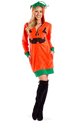 Cute Adult Costumes (Women's Cute Pumpkin Costume - Adult Pumpkin Dress for Halloween: Medium)