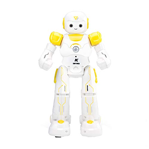 Ball Machines Playmate (Insaneness Xmas Toys Intelligent JJRC R12 Gesture Control Programmable Dancing USB RC Robot Toy (Yellow))