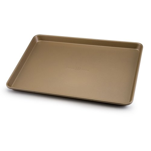Paula Deen Signature Nonstick Bakeware 13-Inch-by-18-Inch Cookie and Baking Sheet, Champagne by Paula Deen