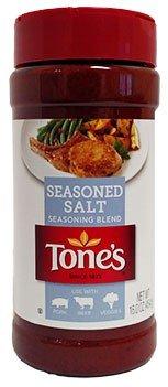 Tones Seasoned Salt Seasoning Blend, 16 oz (3pack)