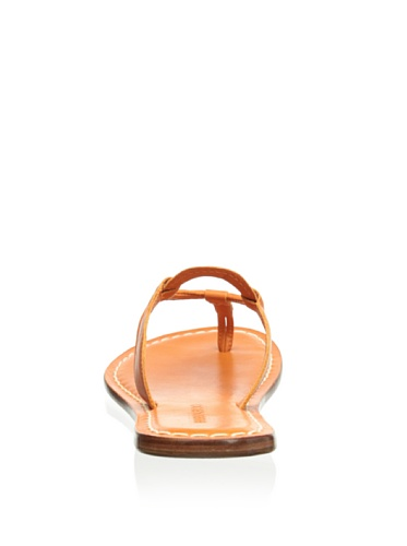 Bernardo Womens Matrix Flat Sandal Orange
