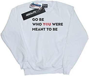 Marvel Herren Avengers Endgame Be Who You were Meant to Be Sweatshirt Weiß XX-Large