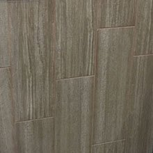 "Taomina Taupe Wood Look Tile Plank Tile-8"" X 24"""