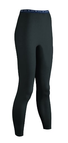 ColdPruf Women's Platinum Plus Size -  For My Size Only Dual Layer Bottom, Black, 1X by ColdPruf
