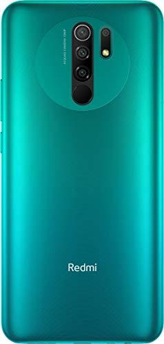 "Xiaomi Redmi 9 64GB, 4GB RAM, 6.53"" Full HD + AI Quad Camera, LTE Factory Unlocked Smartphone - International Version (Ocean Green)"