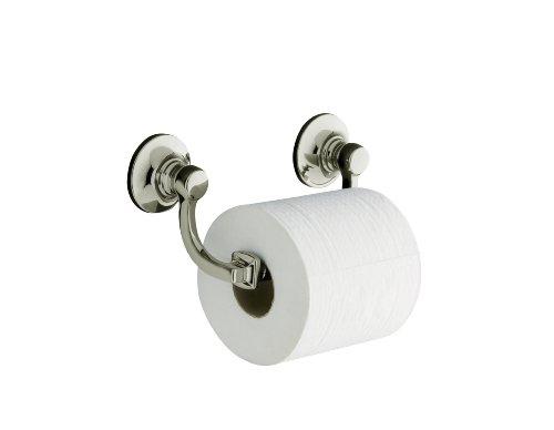 Kohler K-11415-SN Bancroft Toilet Tissue Holder, Vibrant Polished (Bancroft Bathroom Faucet)