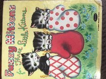 Fuzzy Mittens For Three Little Kittens.  A Fuzzy Wuzzy (Fuzzy Kitten)