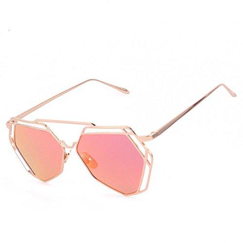 TOOPOOT TOOPOOT Clearance Deals Glasses,Geometry Design Women Metal Frame Mirror Sunglasses - Sunglass Deal