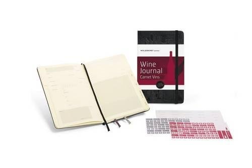 Moleskine Passion Journal - Wine, Large, Hard Cover (5 x 8.25) (Passion Book Series)
