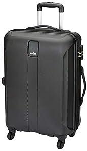 Safari Thorium Sharp Antiscratch 66 Cms Polycarbonate Black Check-In 4 wheels Hard Suitcase - 26 Inch
