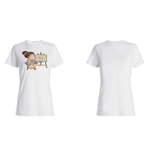 Einhorn Lustige neue Positive Gute Inspiration Damen T-shirt d148f