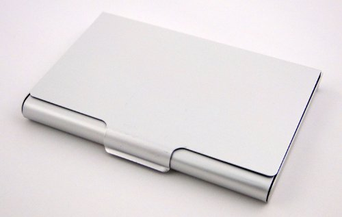 Amazon Com Business Name Card Holder Aluminum Case Office Products