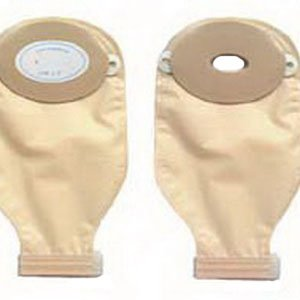 Nu-Flex 1-Piece Adult Drainable Pouch Cut-to-Fit Convex 1-1/8