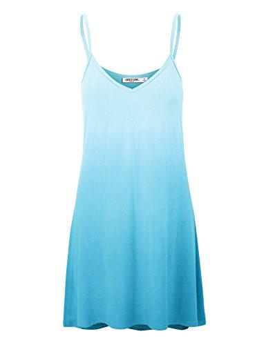 aqua swing dress - 4