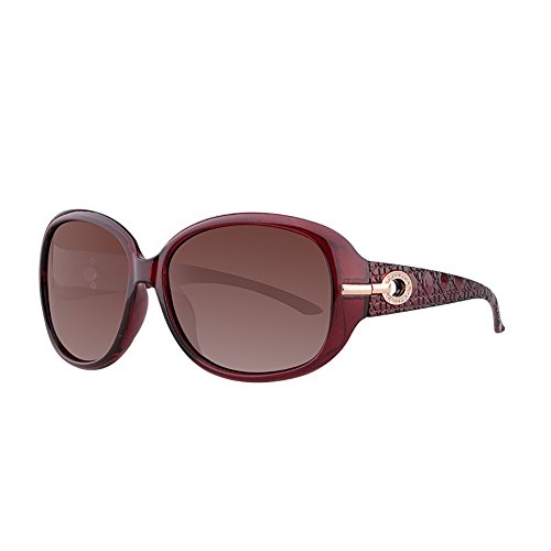 Gafas Mujer Essentials Gafas de UV Color Ocular Marrón Polarizadas sol mujer Travel Anti Protección Gafas BSNOWF Marrón Y0wHFwg