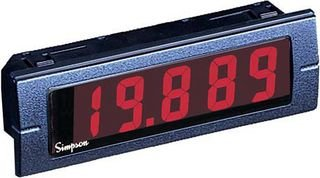 Voltmeter, LCD, M145 Series, DC Voltage, 0V to 20V, 4.5 Digits, 5 Vdc, No Backlight