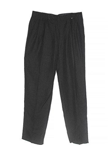 Vintage Versace Classic Black Men's Pants, 56 - Vintage Versace Mens