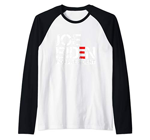Joe Biden President 2020 Election Democratic Distressed Tee Raglan Baseball Tee]()
