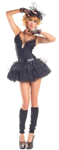 Material Girl Costume Madonna (Material Pop Star Adult Costume - Large)
