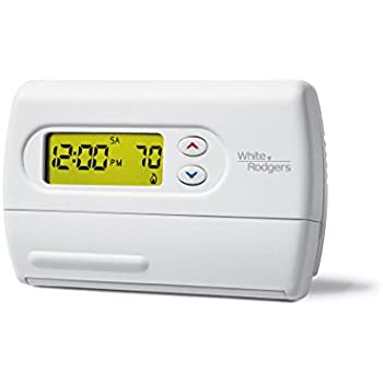 Emerson 1F80-361 5-1-1 Day Programmable Thermostat for Single-Stage Systems