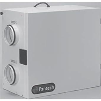 Fantech Sh 704 Heat Recovery Ventilator Hrv Single Speed Unit Airflow Cfm 0 4 W C Low