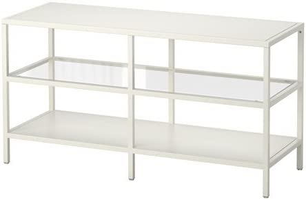 IKEA vittsjö TV-banco de madera en colour blanco; (100 x 53 cm ...