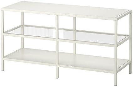 IKEA vittsjö TV-banco de madera en colour blanco; (100 x 53 cm)