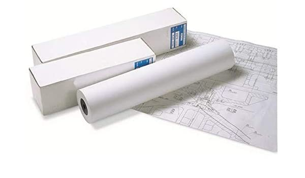Clairalfa Bobine Traceur Jet dencre 90g 914x45 ml Non Collée Blanc Lot de 2: Amazon.es: Oficina y papelería