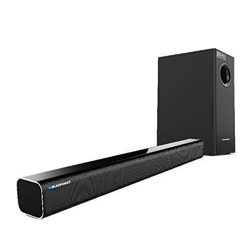 For 8499/-(76% Off) Blaupunkt SBW-02 100W Wired Dolby Soundbar with Subwoofer, Bluetooth and HDMI Arc at Amazon India