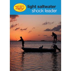 RIO Products Leaders Saltwater Light Shock Leader 25Lb Shock, Clear