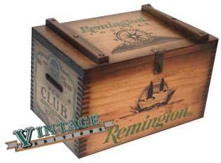 Remington Wooden Ammo Box