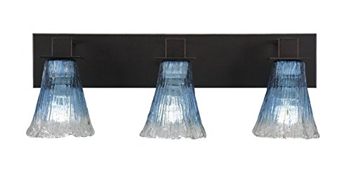 Toltec Lighting Apollo 3 Light Bath Bar with 5.5