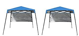 Quik Shade GO Hybrid Compact Slant Leg Backpack Canopy Blue 7 x 7-Foot (Pack of 2)  sc 1 st  Amazon.com & Amazon.com : Quik Shade GO Hybrid Compact Slant Leg Backpack ...