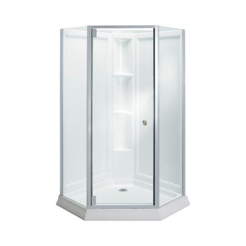 Neo Angle Framed Shower Enclosure - 1
