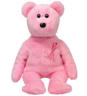 Amazon.com  Ty Beanie Babies Promise - Breast Cancer Awareness Bear ... 22bae179cbd