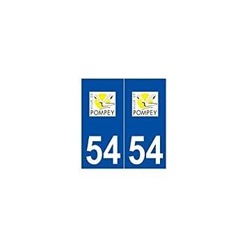 54 pompey sticker plate logo stickers city