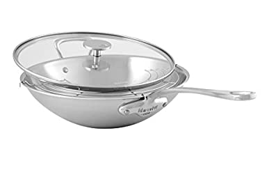 Mauviel M'Cook 5 Ply Stainless Steel Woks