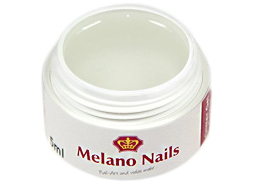 FIBERGLAS Gel UV Gel Fiberglasgel 15ml KLAR Melano Nails