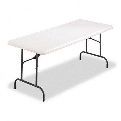 Alera® resina Rectangular mesa plegable mesa, FLD 30 x 72, PM ...