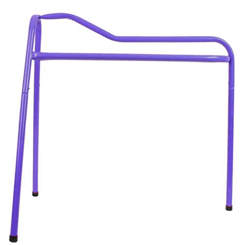 Roma Lightweight Collapsible Saddle Stand - Purple