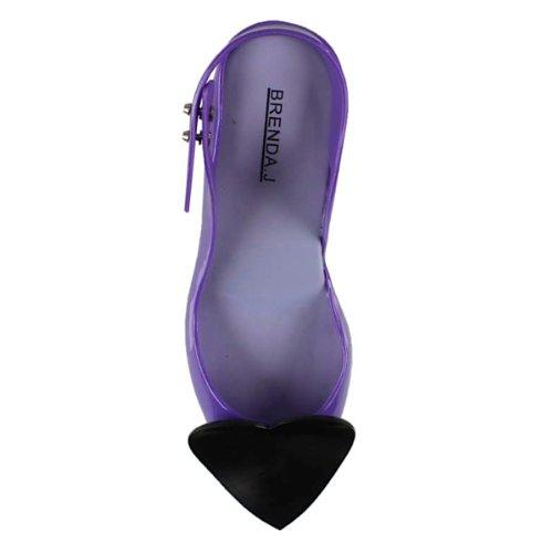 Brenda J. - Sandalias de Vestir Mujer Morado - purple-black