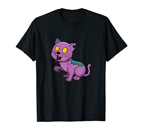 Halloween Cat Zombie Costume T-Shirt Kitten Zombie