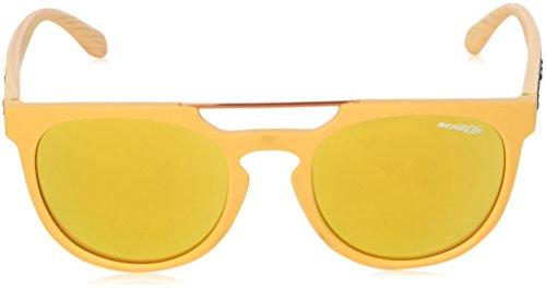 Hombre Marrón Mustard Arnette Sol Gafas Matte Woodward para de nwgwYX1q
