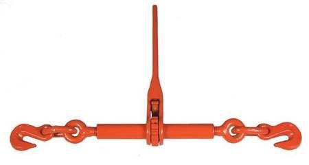 Ratchet Load Binder,Fixed,5400 lb.
