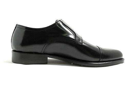 in Vero Shoes Original Fondo Cuoio Fibbia Models 320 Made Nero Abrasivato Bryan Allacciatura Italy Cuoio dqzIxCqw