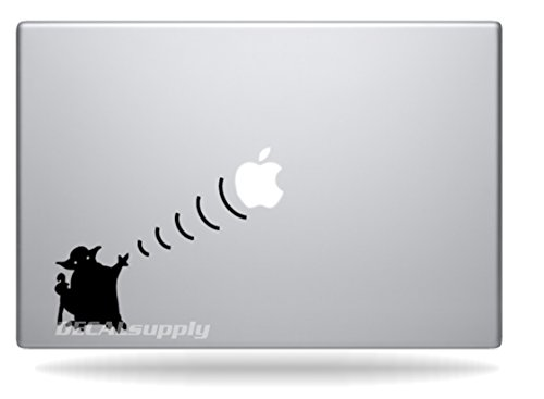 جنگ های Yoda Star for Macbook Air 11، 13، Macbook Pro 13،15،17 Decals، Stickers.
