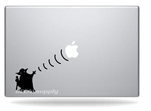 Yoda Star Macbook Decals Stickers
